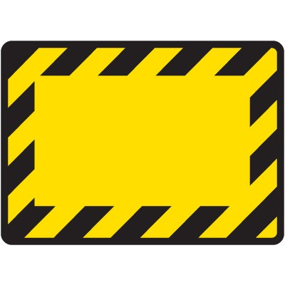 Blank Construction Sign | Free download best Blank