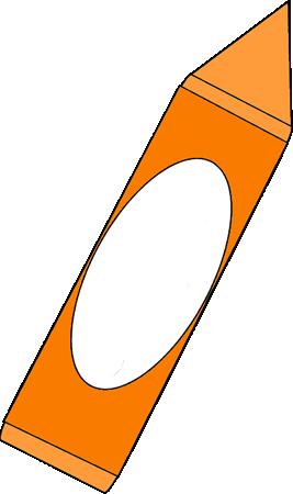 267x450 Big Orange Crayon Clip Art