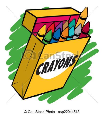 427x470 Graphics For Blank Crayon Box Graphics