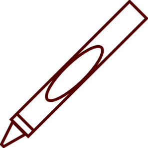 297x298 Blank Crayon Clipart