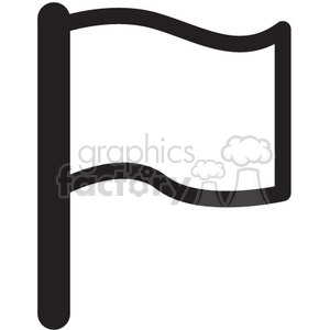 300x300 Royalty Free Blank Flag Vector Icon 398621 Icon
