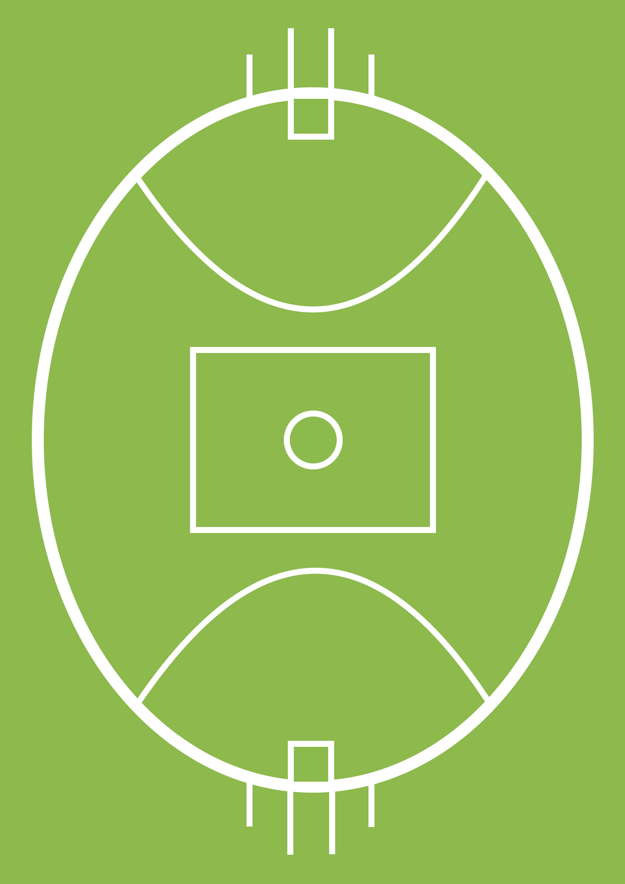 1240x1753 Australian Rules Football Positions