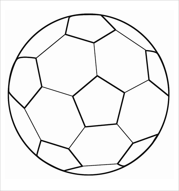 blank football field template