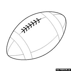 236x236 Free Football Stencils You Can Print Football Stencil From All