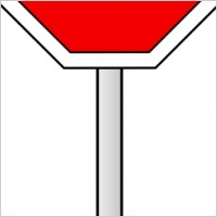 200x200 Blank Stop Sign Clipart