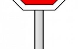 265x168 Stop Sign Clip Art Item 3 Clipart Panda