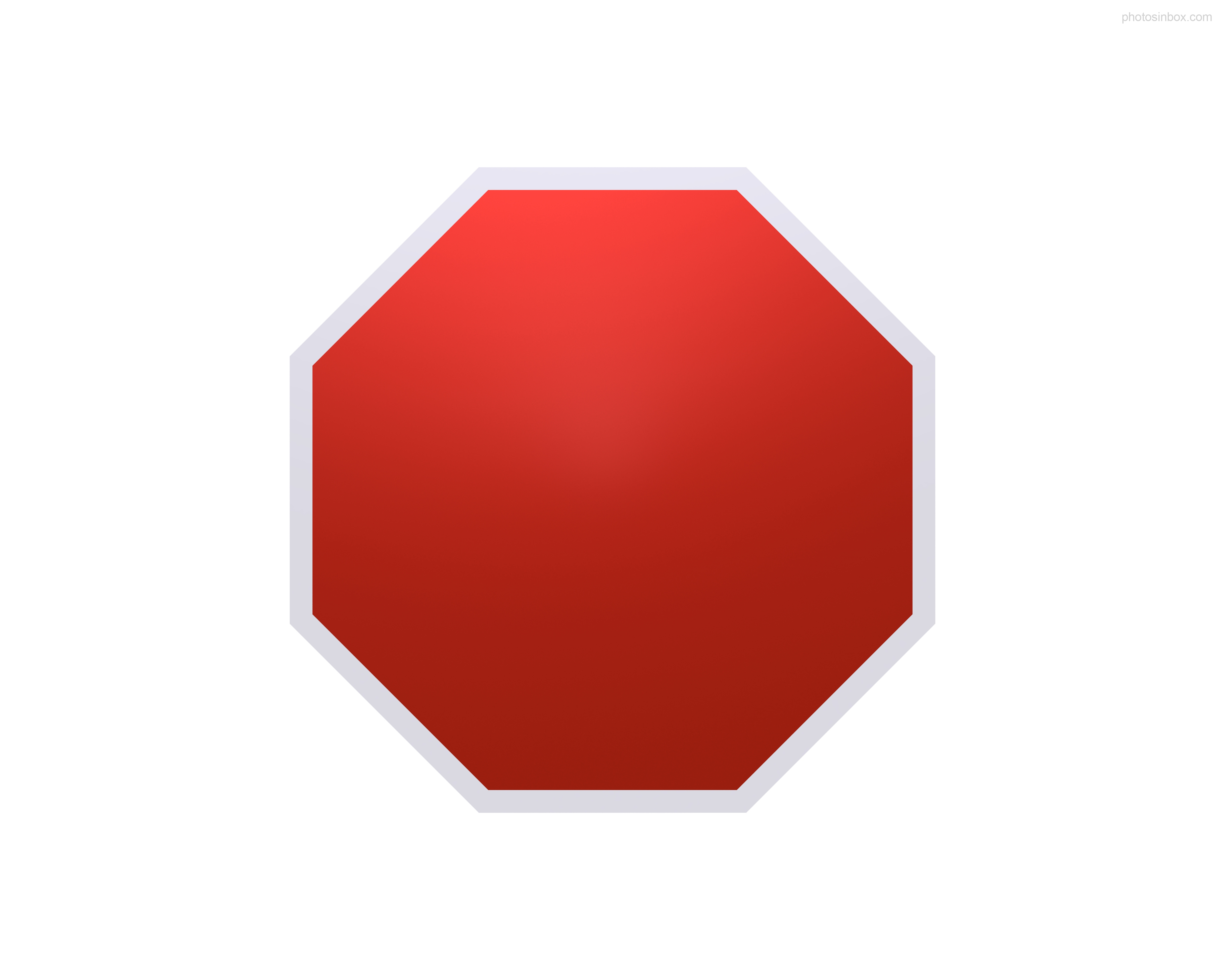 5000x4000 Blank Stop Sign Clip Art Clipart 2