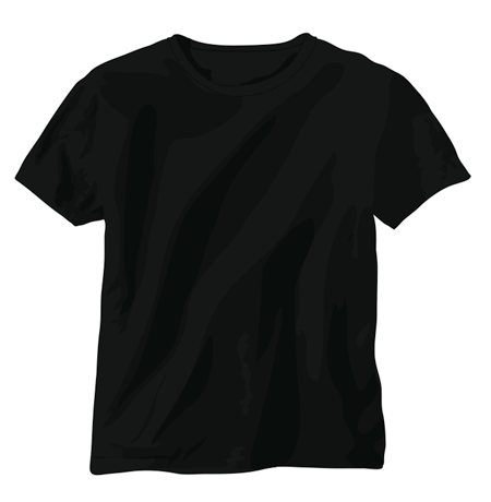Blank T Shirt Outline