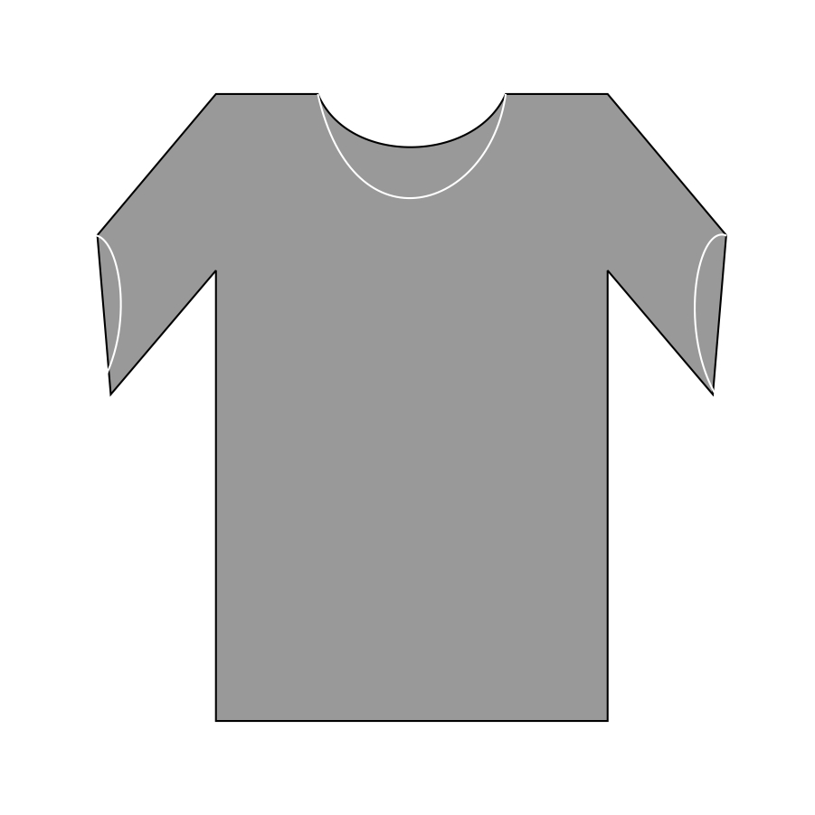 Blank T Shirt Outline | Free download best Blank T Shirt Outline ...