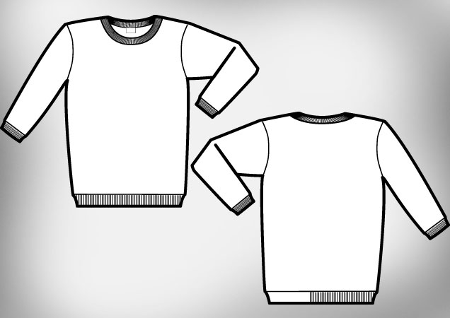 Blank T Shirt Outline | Free download best Blank T Shirt Outline on ...