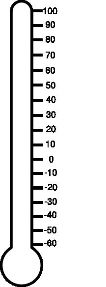 216x584 Blank Thermometer Clip Art Clipart Panda