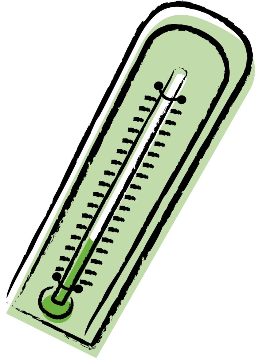830x1165 Clip Art Thermometer