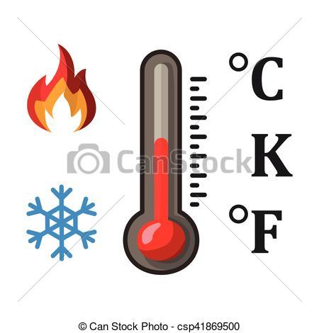 450x470 Degrees Celsius Clipart