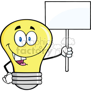 300x300 Royalty Free 6139 Royalty Free Clip Art Light Bulb Cartoon