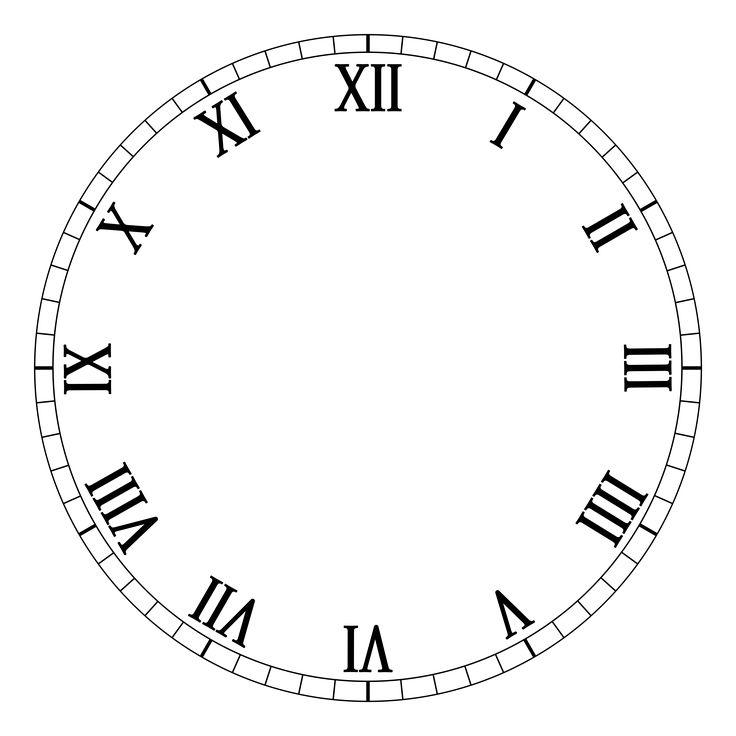 736x736 The Best Clock Face Printable Ideas Clock Faces