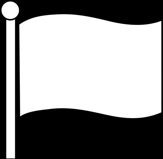 550x537 Blank Flag Clip Art