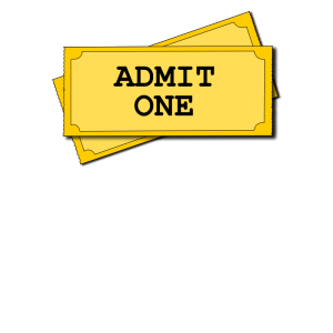 Blank Ticket Clipart