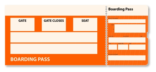 500x232 Blank Air Ticket U2013 Site Title  Blank Ticket