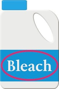 Bleach Bottle Cliparts