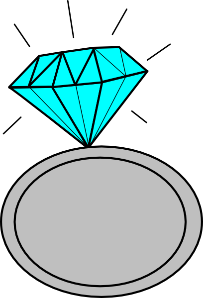 408x599 Ring Bling Cliparts 251527