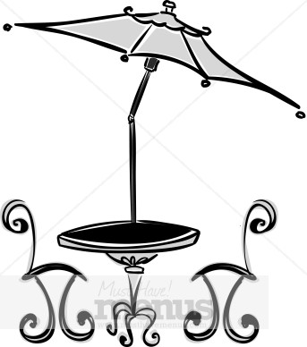 343x388 Sidewalk Cafe Clipart Cafe Clipart
