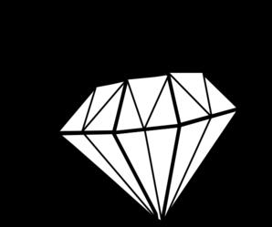 298x249 White Diamond Clip Art