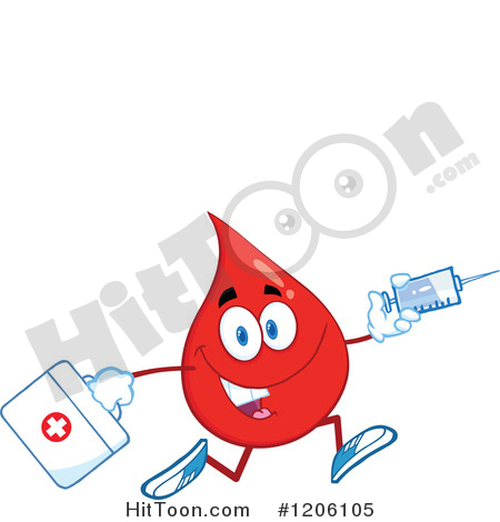 450x470 Blood Drop Clipart