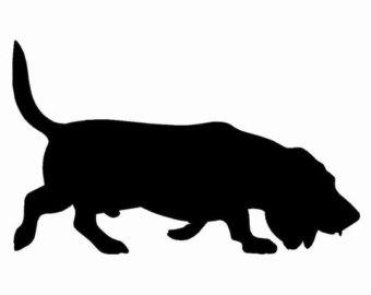 340x270 Bloodhound Clipart Basset Hound
