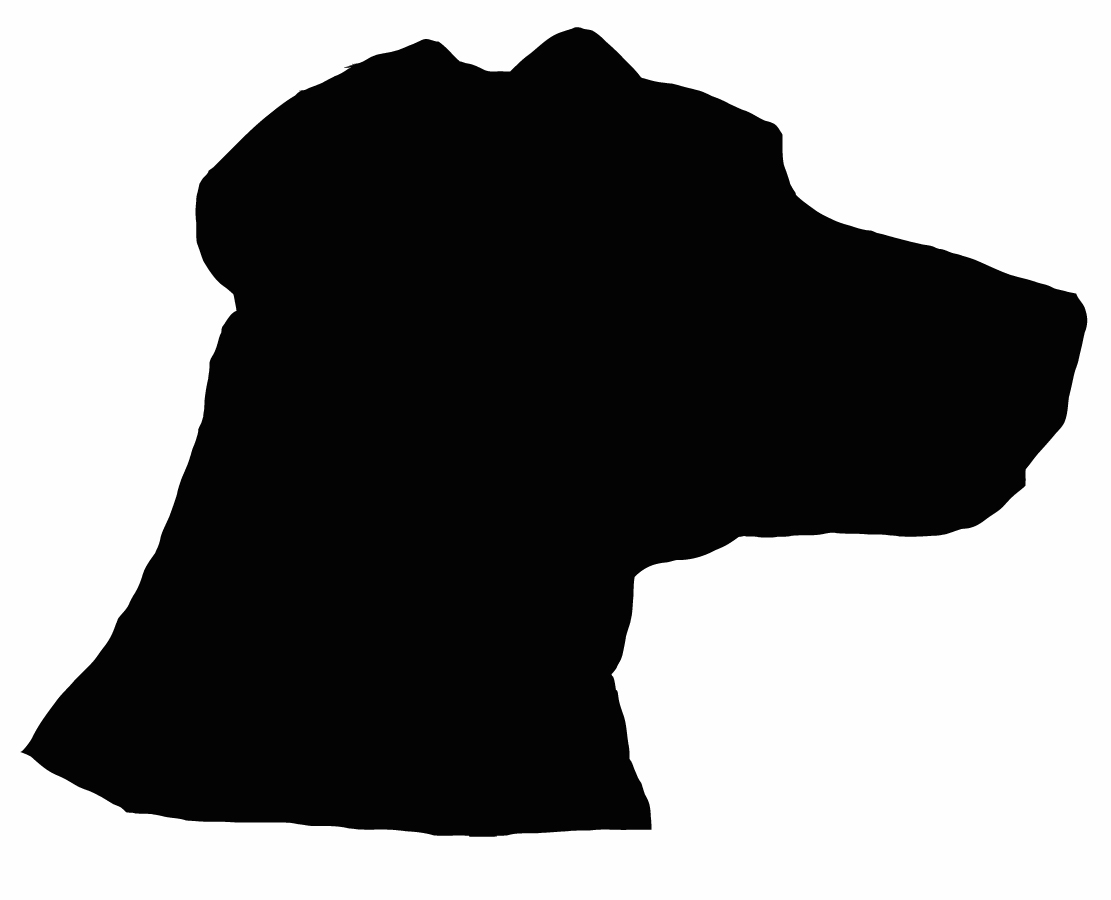 1111x900 Bloodhound Clipart Dog Silhouette