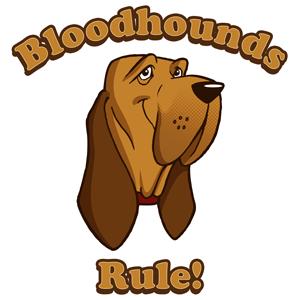 300x300 Bloodhound Clipart Cartoon
