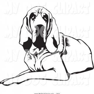 320x320 Hound Dog Clipart