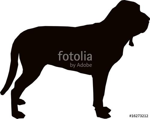 500x397 Bloodhound Clipart