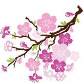 170x170 Cherry Blossom clipart purple