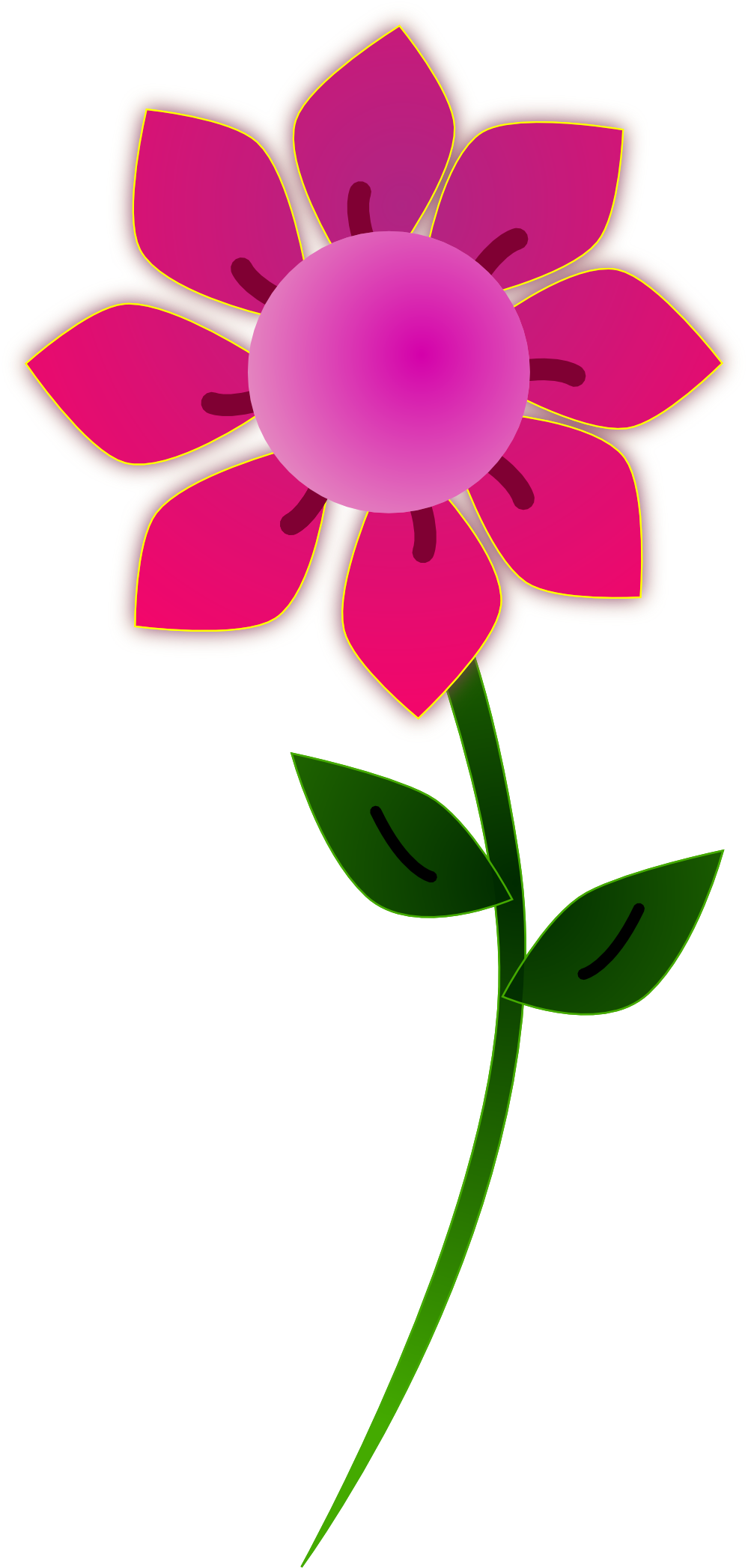999x2095 Free Flower Clip Art Graphics Of Flowers For Layouts Image 6 2