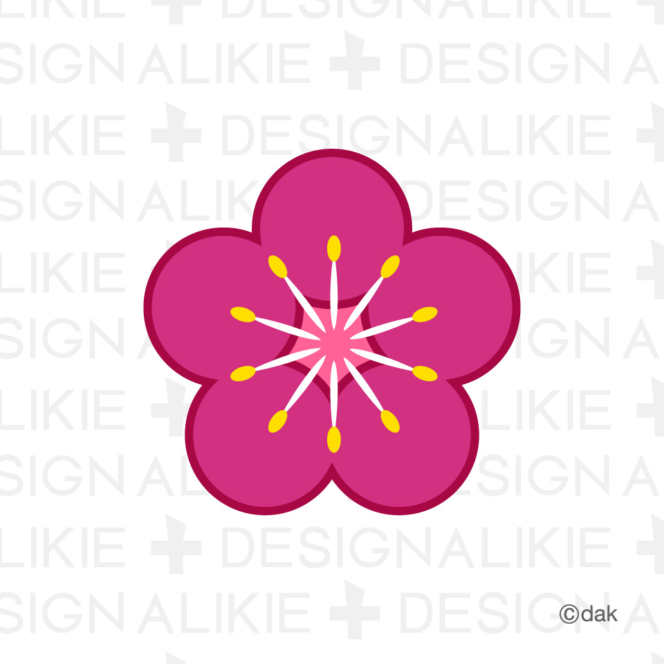 960x960 Plum blossoms clipart
