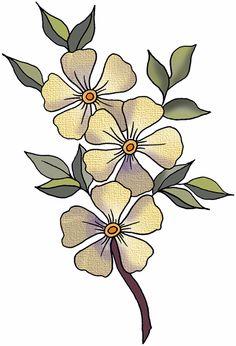 236x346 artbyjean clipart flower pot flower blossoms in a flower pot