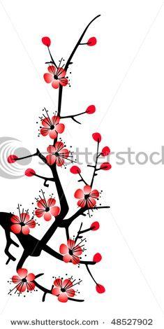 235x470 cherry blossom clip art Cherry Blossom Sakura