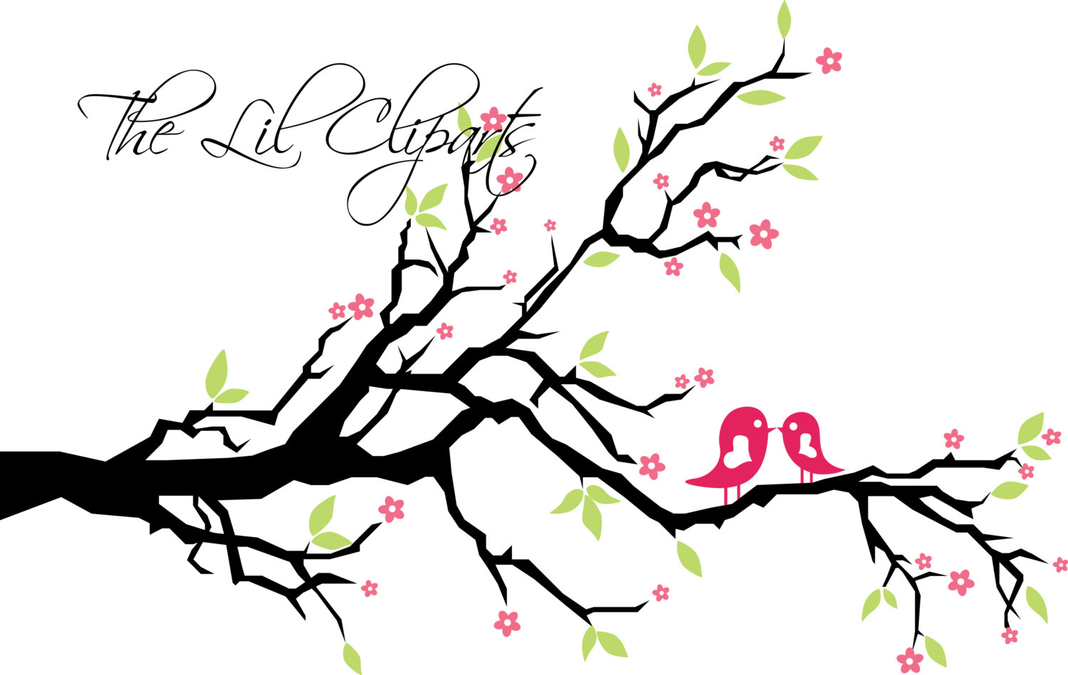 1500x949 Clipart Blossom, Printable Blossoms, Floral Clipart, Clipart