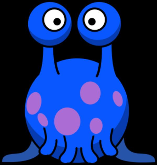 600x628 Ufo Clipart Blue Alien