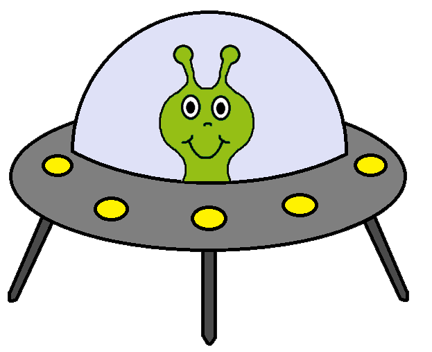623x507 Alien Spaceship Clipart