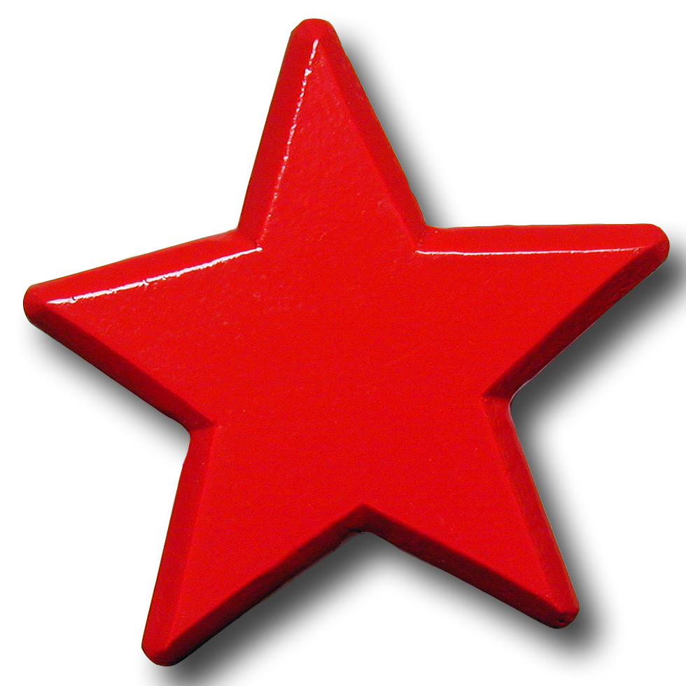 980x980 Red Star Clipart