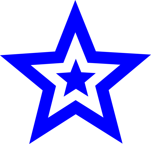 600x571 Star Design Clipart
