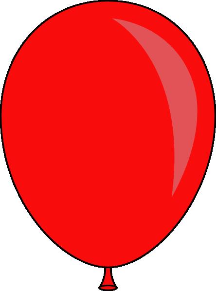 444x598 Blue Balloon Clip Art