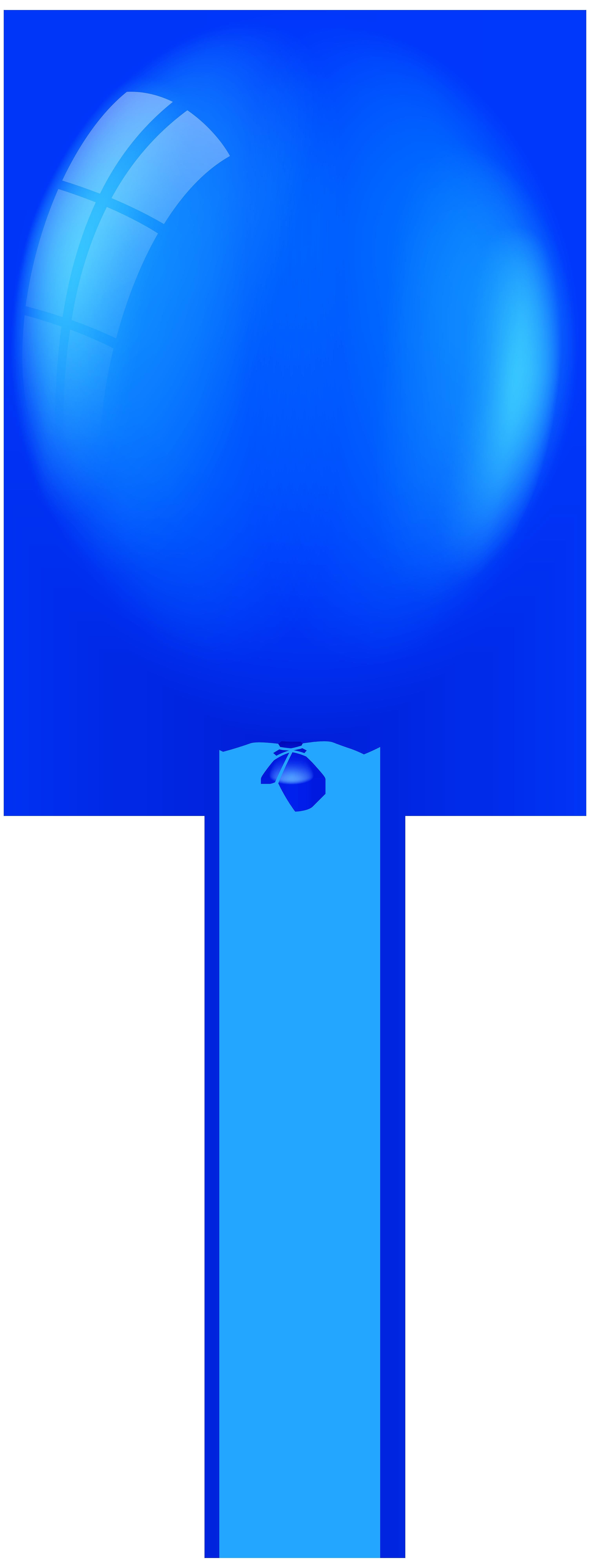 3009x8000 Blue Balloon Png Clip Art