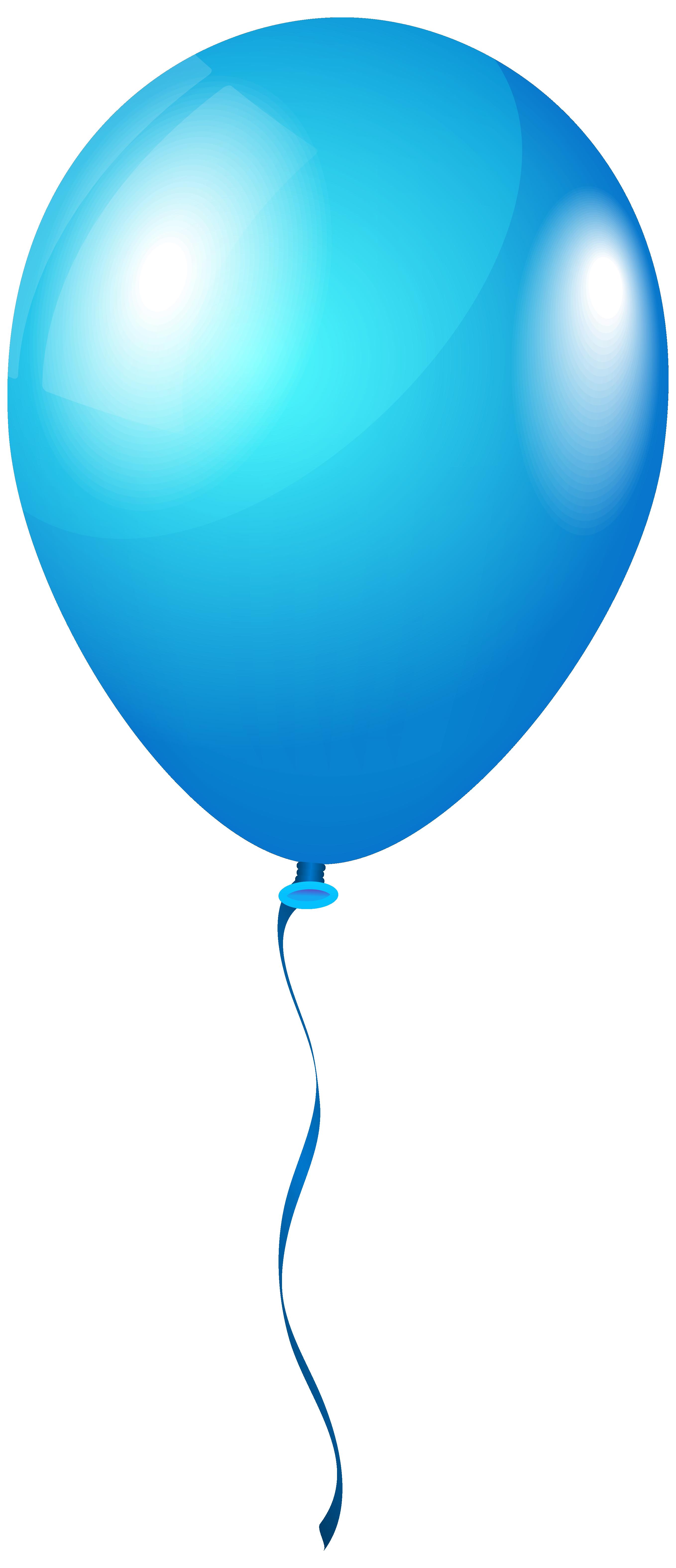 2716x6301 Single Blueballoon Png Clipart Imageu200b Gallery Yopriceville