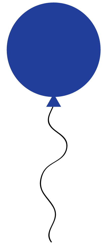 422x964 Blue Balloon Clip Art Clipart Panda