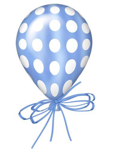 Blue Balloons Clipart