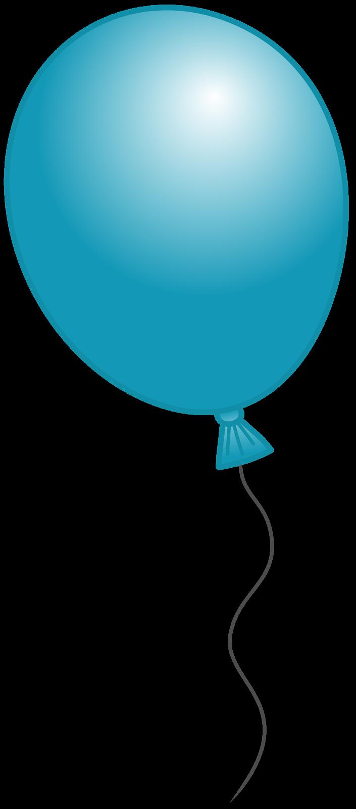 705x1600 Blue Balloon Clipart