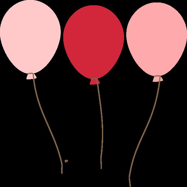 600x601 Emmas Blue Balloons Clip Art