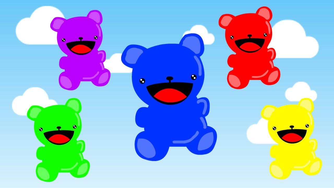 1280x720 Gummy Bear Clipart Animated